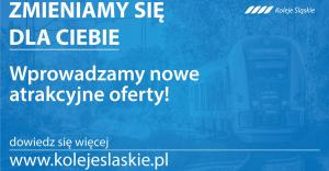 Nowe atrakcyjne oferty w Kolejach Śląskich!
