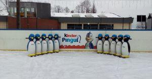 Nowe pingwinki do nauki jazdy na łyżwach na czechowickim lodowisku