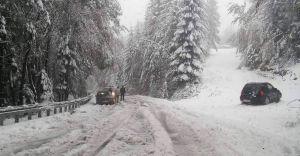 [ZDJĘCIA] Atak zimy w regionie. Miejscami 20 cm śniegu!