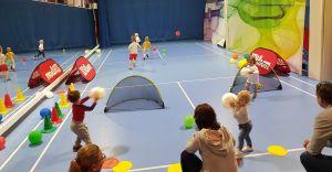 Tenis dla najmłodszych dzieci 2-4 lat w Śląskim Centrum Tenisa