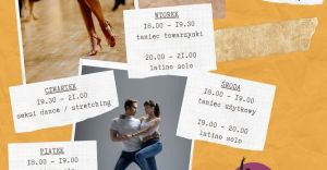 Mandla Nauka Tańca - grafik zajęć tanecznych dla dorosłych w 2020 r.
