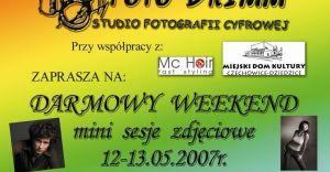 Dni otwarte Studia Fotografii Cyfrowej