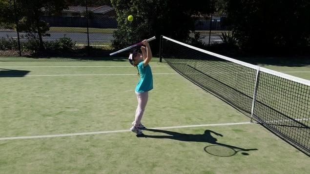 tenis, dziecko