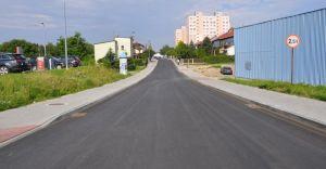 Zakończyły się prace drogowców na ulicy Asnyka