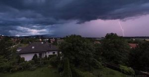 IMGW wydało ostrzeżenie o burzach z gradem