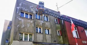 [FOTO] Elewacja remizy OSP Czechowice odzyskała dawny blask