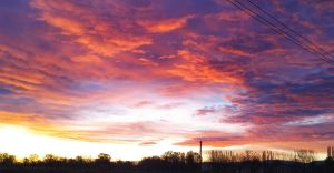 Foto-dnia: jesienny wschód słońca nad stawem