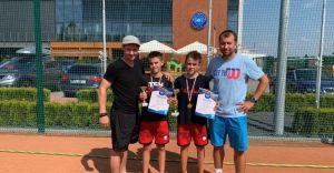 Tenis: Antek Pękała ponownie zwycięża!