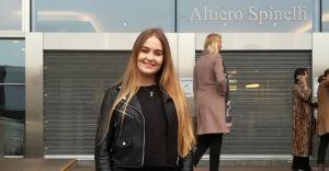 Licealistka z Czechowic-Dziedzic zaśpiewała w PE w Brukseli