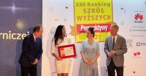 Akademia WSB na trzecim miejscu w Polsce