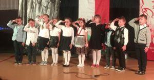 Wieczór patriotyczny w Szkole Podstawowej nr 2 w Ligocie