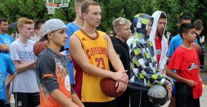 XXII Turniej Koszykówki Ulicznej na rynku