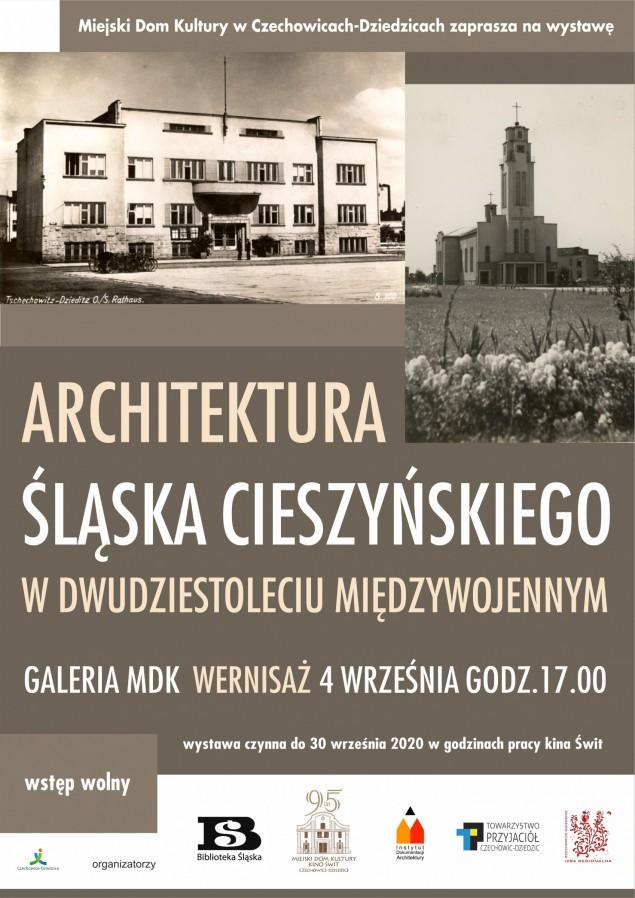 Wystawa architektura śląska cieszyńskiego