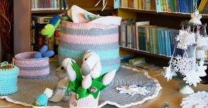 Zajęcia wakacyjne w bibliotece przy ulicy Węglowej