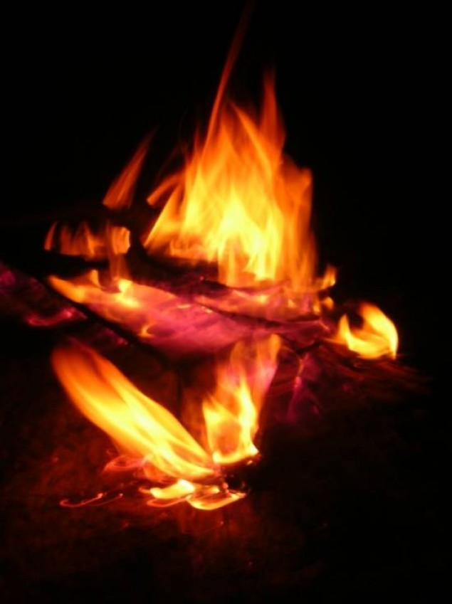 Pożar na ulicy Cichej