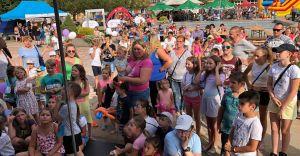 [WIDEO, ZDJĘCIA] Rodzinna zabawa na Placu Jana Pawła II