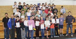 Młode talenty zagrały w ping ponga