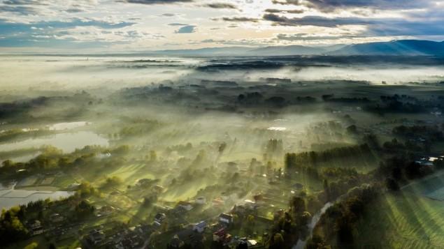 Widok na Kaniów i okolice