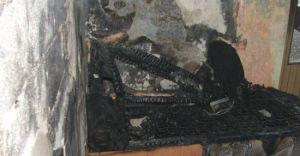 Pożar domu mieszkalnym w Kaniowie