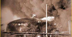 [ZDJĘCIA, WIDEO] 49. rocznica pożaru rafinerii w Czechowicach