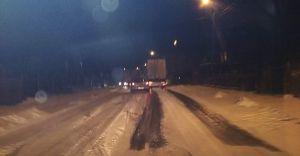 [FOTO] Intensywne opady śniegu sparaliżowały ruch w Czechowicach