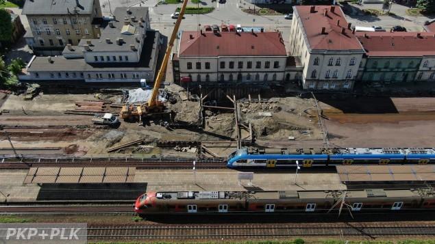 Przebudowa węzła kolejowego Czechowice-Dziedzice - 06.2021