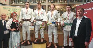 Złoty medal Wojciecha Grądzkiego w Pucharze Polski w judo
