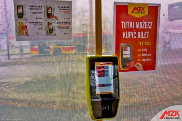 Już wkrótce bilet w MZK zakupimy bezpośrednio w kasowniku kartą