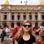 Licealistki odwiedzi�y Francj�
