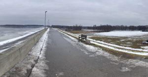 Foto-dnia: zapora w Zabrzegu - obróć się wokół własnej osi