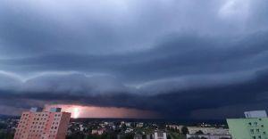 Foto-dnia: Potęga burzy która przeszła nad gminą