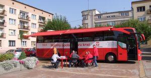 Sierpniowa akcja krwiodawstwa na Placu Jana Pawła II