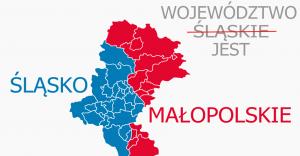 Woj. śląsko-małopolskie? Organizacje łączą siły i chcą zmiany nazwy