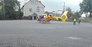 Wypadek w czechowickiej kopalni. Lądował śmigłowiec LPR!