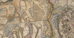 Tereny Czechowic-Dziedzic na historycznych mapach Habsburgów
