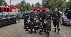 Sukces druhów z OSP Zabrzeg na zawodach sportowo - pożarniczych