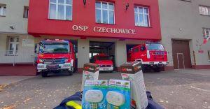 W konkursie OSP Czechowice można wygrać czujniki czadu i gaśnice