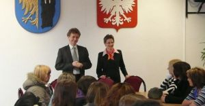 Wizyta niemieckiej młodzieży w ratuszu