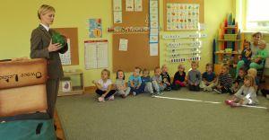 O lesie, zwierzętach i pomocy ptakom w Przedszkolu w Zabrzegu