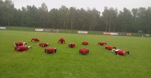 Piłkarze MRKS pompowali dla chorej Sandry