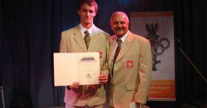 Nagroda i gratulacje dla Marcina Ryszki