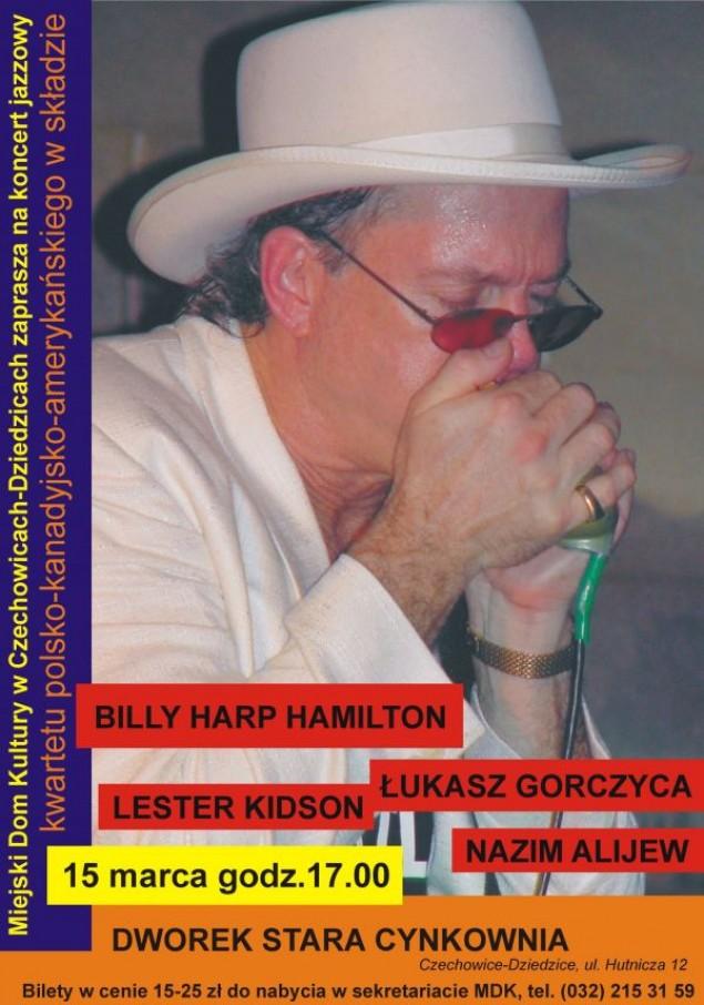 Koncert jazzowy w Starej Cynkowni