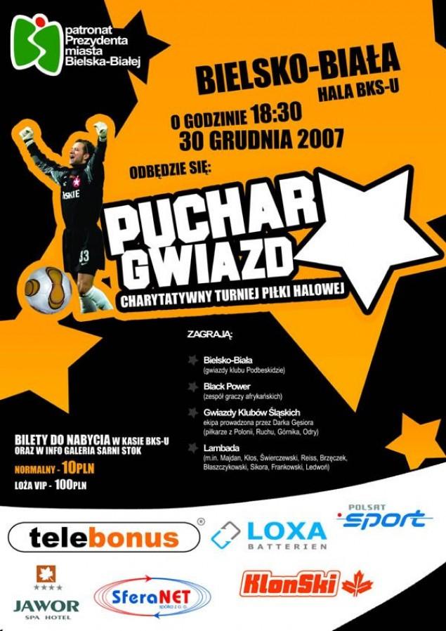 Gwiazdy piłki nożnej 30.XII w Bielsku