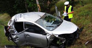 [ZDJĘCIA] Wypadek na Warszawskiej. W szpitalu zmarła 26-letnia kierująca