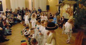 Jasełka przedszkolaków z Zabrzega
