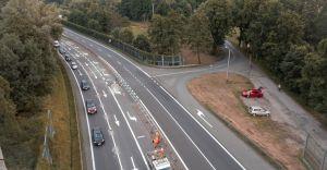 [FOTO] Zamykają skrzyżowanie krajowej jedynki z ul. Uzdrowiskową