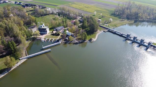 korona zapory, jezioro goczałkowickie