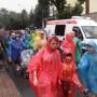 Pielgrzymi wyruszyli w deszczu