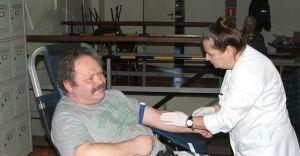 Zebrano dziś 13,950 litrów krwi