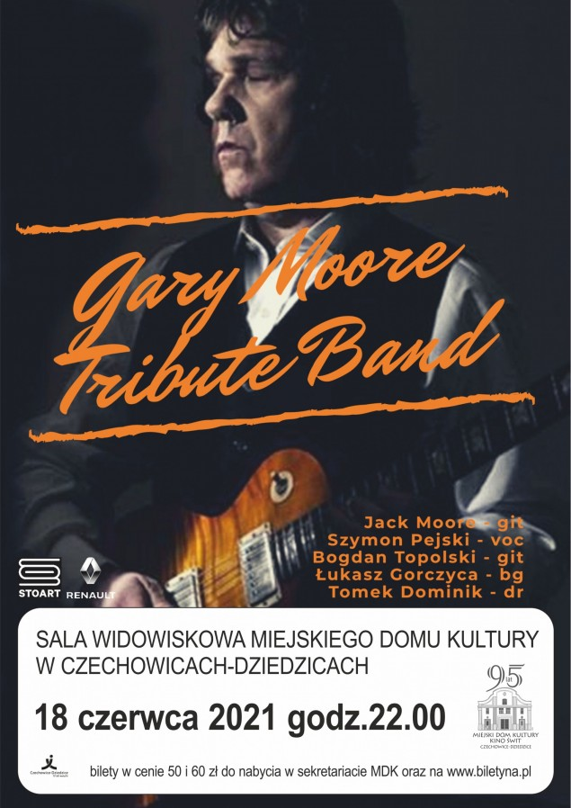 MDK: koncert Gary Moore Tribute Band już 18 czerwca!